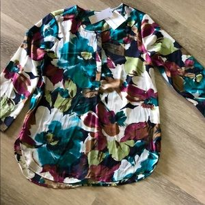 NWT Liz Claiborne polyester blouse size S